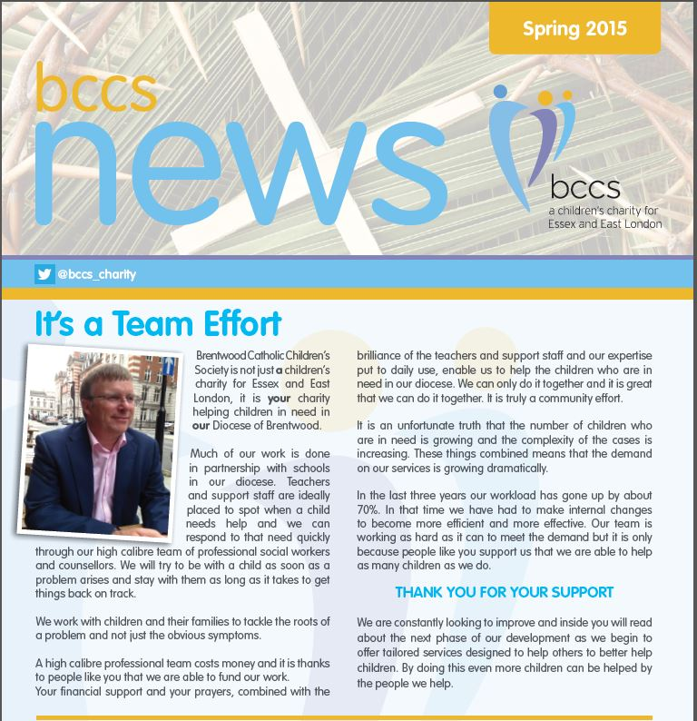 Click Here To View The Bccs Newsletter Spring 2015