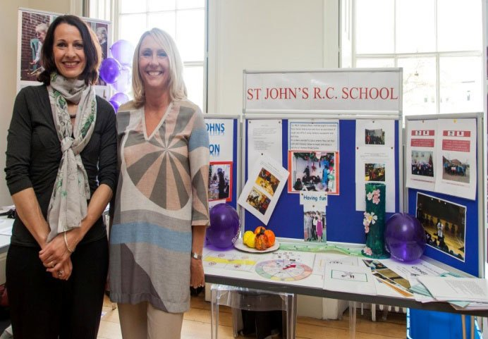 Sue Fahey Our Family Support Officer And Louise Gilani
