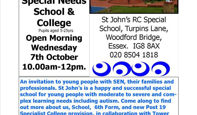 Open Morning 7th October 2015