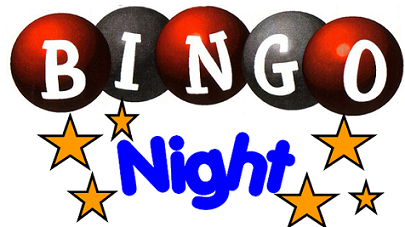 Bingo Night – Friday 3rd November 2017
