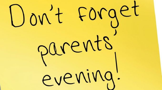 Parents Evening 8th November 2017