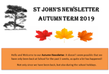 Autumn 2019 Newsletter