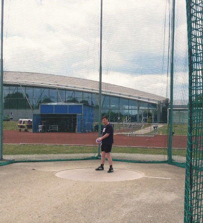 Bronze For Louis Bixby In The Discus