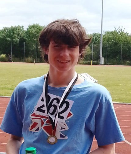 Gold Medal For Paul Steley In The 800m