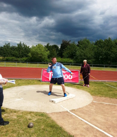 Silver For Brian Allen In The Shot